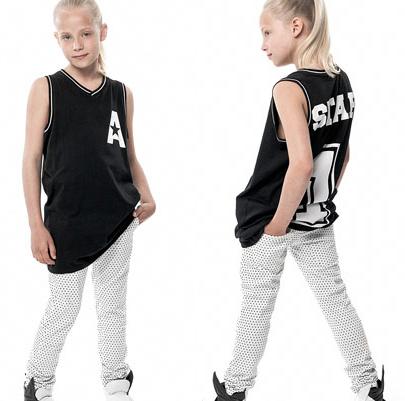 Kids-girl-jersey-top-chino-pant