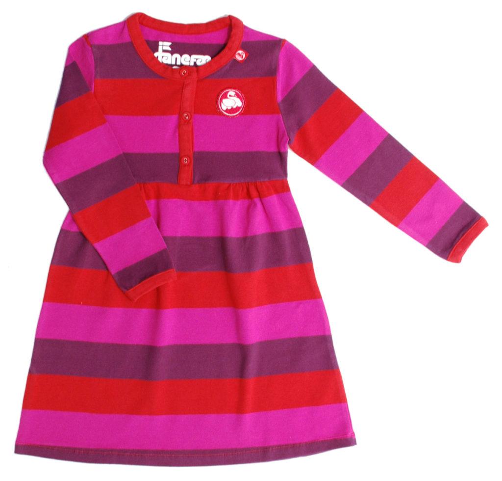 Kids-girl-jersey-velvet-dress