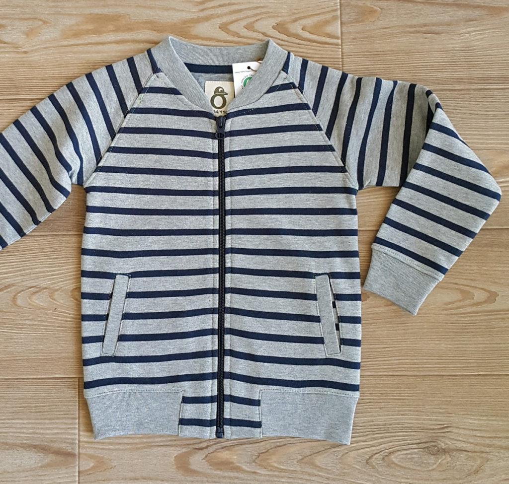 Kids-greymelange-sweat-jacket