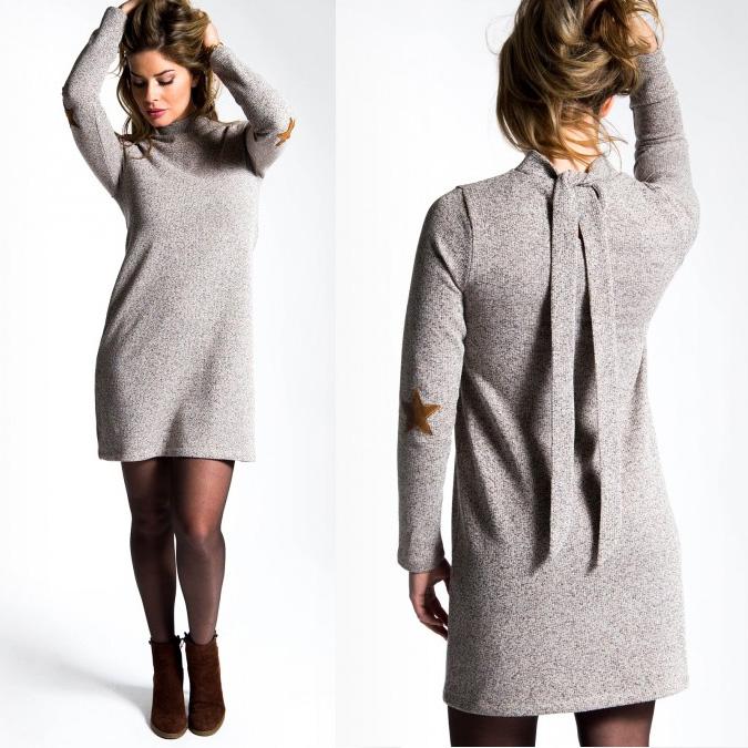 women-fancyknit-dress
